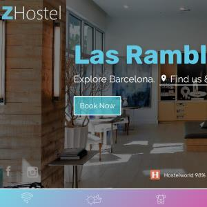 Responsive mobile booking engines for accommodation
